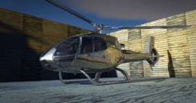 Helicopter rental in Tuscany